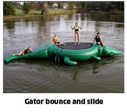 Gator bounce and slide